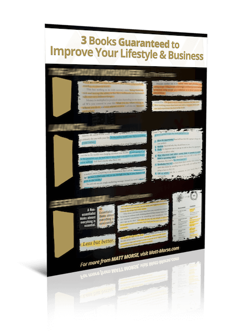 3 Books Guaranteed to Improve Your Lifestyle & Business (3D Mockup)